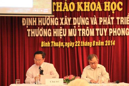 Hội thảo về cây trôm