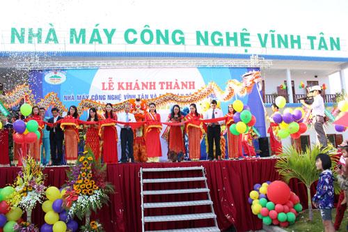 Khánh thành Nhà máy công nghệ Vĩnh Tân
