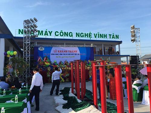 Lễ Khánh Thành Nhà Máy Vĩnh Tân Đạt Chuẩn GMP