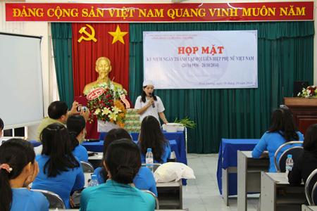 Mỹ phẩm Vĩnh Tân chúc mừng ngày phụ nữ Việt Nam