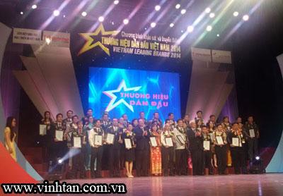 Mỹ Phẩm Vĩnh Tân - Top 50 Thương Hiệu Dẫn Đầu Việt Nam 2014